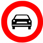 Cars_not_allowed_Israel_road_sign