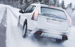 روش رانندگی در برف