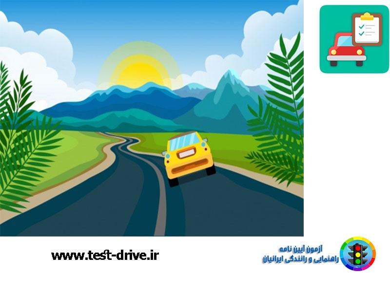 قوانین سرعت مجاز رانندگی