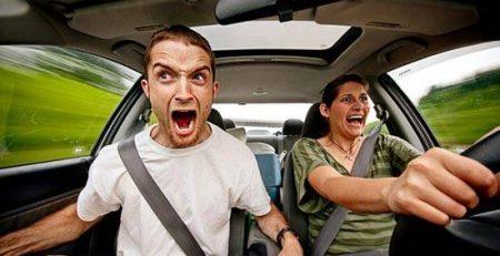خاطرات آزمون شهری رانندگی