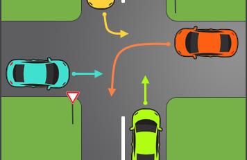 حق تقدم در رانندگی