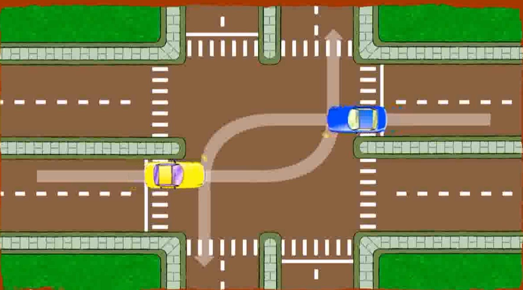 گردش در تقاطع