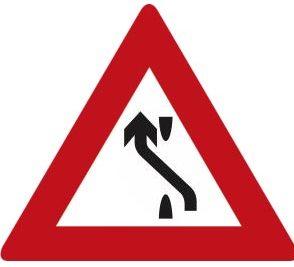 تابلو هدایت مسیر با جدا کننده