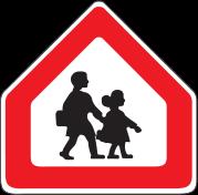 تابلو راهنمایی مدرسه