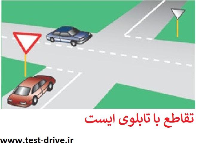 حق تقدم در تقاطع