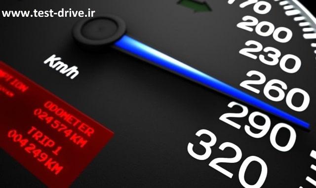 حداکثر سرعت در جاده های اصلی برون شهری چند کیلومتر است