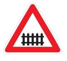 تابلو تقاطع با راه آهن
