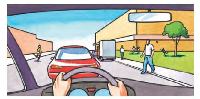 در معابر محلی و میادین شهرها، حداکثر سرعت چند کیلومتر در ساعت است؟