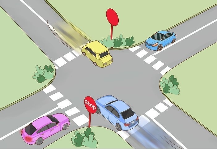 تحت چه شرایطی می توان در تقاطع ها سبقت گرفت؟