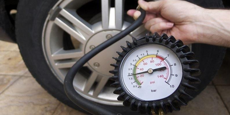 تنظیم باد چرخ