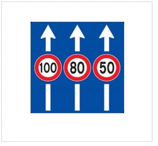 حداکثر سرعت در خطهای عبور