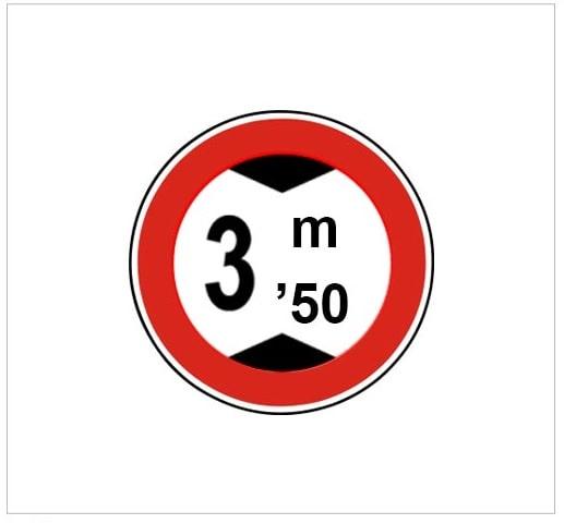 عبور باارتفاع بیش از ۳۵ متر ممنوع